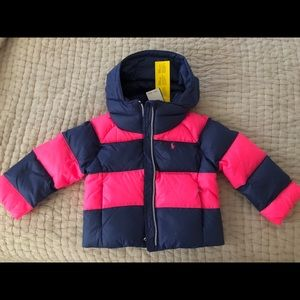 Ralph Lauren Girls Coat 12-18 months